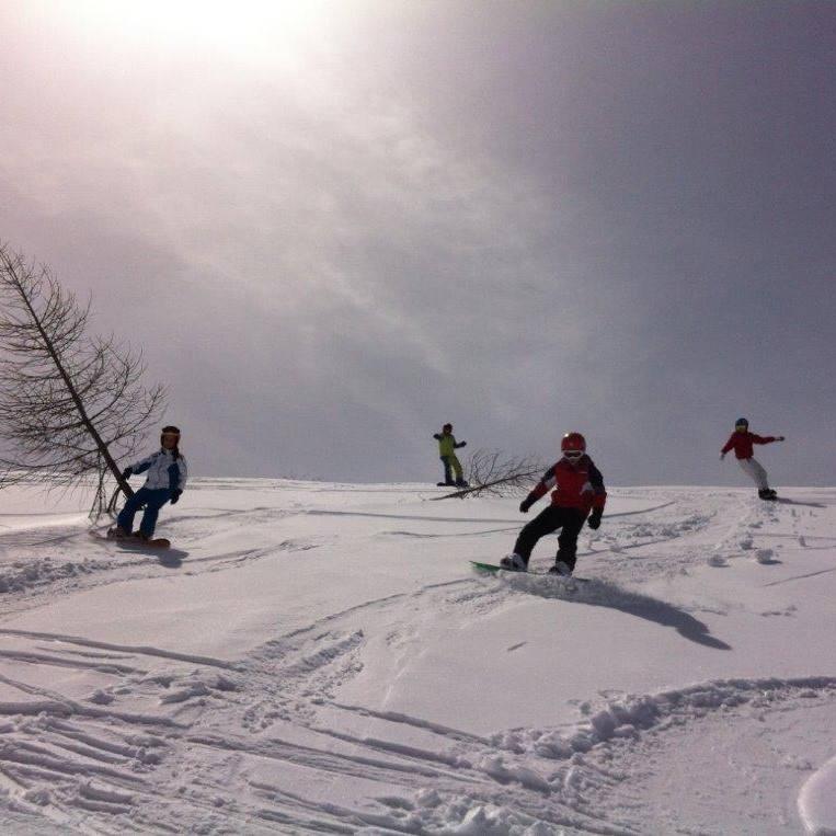 Corsi di Snowboard - Lezioni private