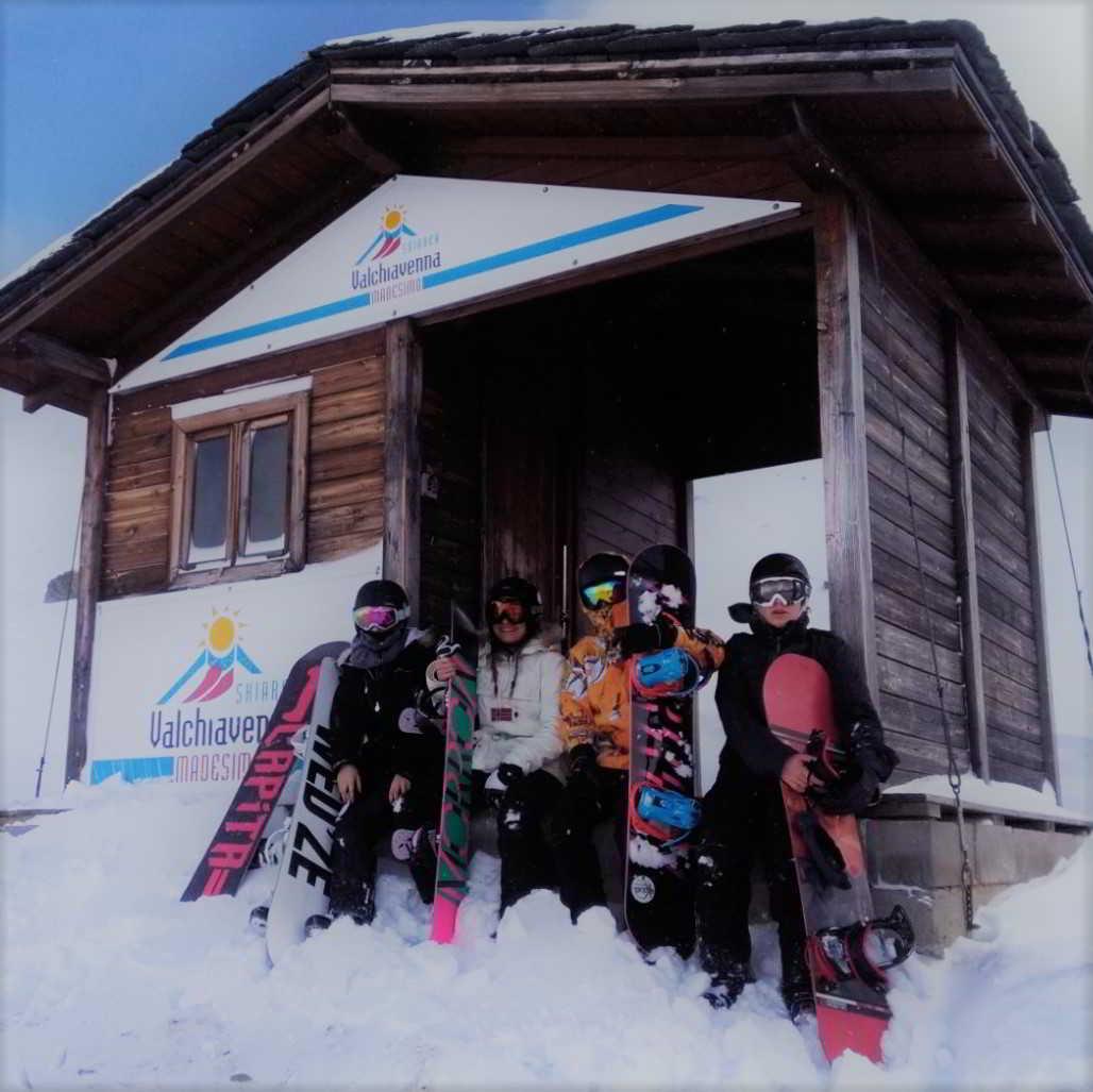 Corsi di Snowboard - Piccoli gruppi